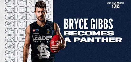 Bryce Gibbs becomes a Panther
